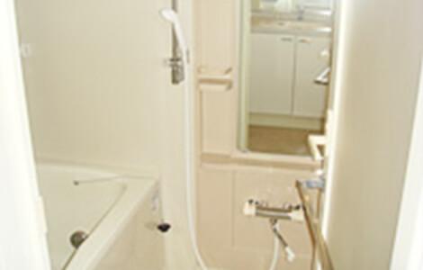 浴槽・壁・蛇口回り